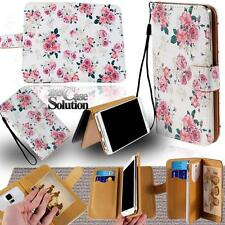 Leather Stand Flip Wallet Cover Mobile Phone Case For Vodafone Smart 4/6/7 Model