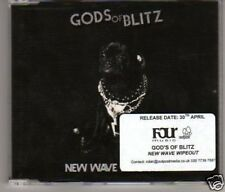 (E566) New Wave Wipe-out, Gods Of Blitz - DJ CD