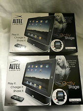 Brand New Altec Lansing Octiv Stage iPad stand with Speaker(pack of 2)