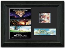 Howl's Moving Castle 35 mm Framed Film Cell Display Signed Stunning Collectible