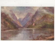 Llanberis Pass LM Long Vintage Art Postcard 702a