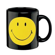 SMILEYBECHER Becher Kaffeebecher SMILEY SCHWARZ im Geschenkkarton GlasXpert