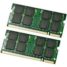 4GB Kit 2x 2GB DDR2 533 MHz PC2-4200 Sodimm Memory for IBM Lenovo HP Dell Laptop