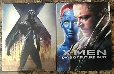 X-Men Days of Future Past Blu-ray Disc + Digital Copy 2016 SteelBook MetalPak