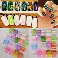 Starry Sky Foils Nail Art Transfer Stickers 3D Design Manicure Tips Decal Tool