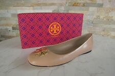 TORY BURCH Gr 39  9 Ballerinas Slipper Schuhe shoes beige nude NEU UVP 245 €