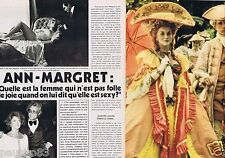 Coupure de presse Clipping 1976 Ann-Margret   (4 pages)
