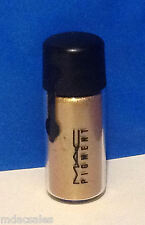 """NEW! AUTHENTIC! MAC PIGMENT TO GO...2.5G/.09OZ """"OLD GOLD"""""""