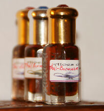 Aloes of Ish Agarwood (Thai & Burmese) mukhallat Sandali and Frankincense 3 ml