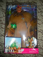 """Ken"" As The Cowardly Lion From The Wizard Of Oz. NIB, Never Taken Out Of Box"