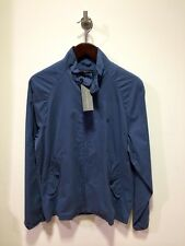 French Connection Lightweigt Cotton Summer Jacket/Laundered Blue - Medium