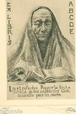 ASSOCIATION BELGE DES COLLECTIONNEURS ET DESSINATEURS D'EX-LIBRIS -ANNÉE 1920.