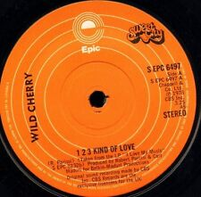 """WILD CHERRY 1 2 3 kind of love/fools fall in love S EPC 6497 uk epic 7"""" WS EX/"""