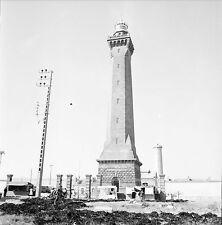 PENMARCH c. 1950 -  Le Phare d'Eckmühl  Finistère - Négatif 6 x 6 - N6 BR39
