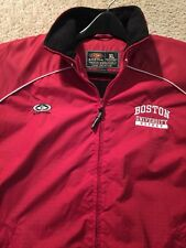 Rare Boston University Hockey Easton Player Jacket Mens XL.