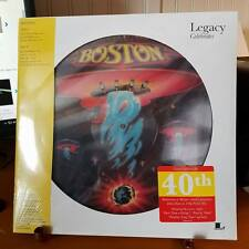 BOSTON-PICTURE DISC-DEBUT LP-EPIC-LEGACY-ROCKIN' LP-SEALED-40 ANNIVERSARY-180g-2