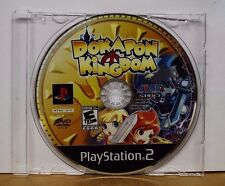 Dokapon Kingdom (Sony PlayStation 2, 2008) DISC ONLY!! Never played.