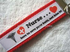 NURSE-SAVE YOUR BUTT Key Fob (really cute keychain)