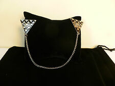 TRIBAL BEDOUIN TRIANGLE COLLAR CHAIN PINS SMART REBEL ROCK ALTERNATIVE ANGEL