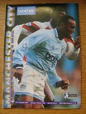 05/02/1994 Manchester City v Ipswich Town  (Crease, Team Changes). Item In very