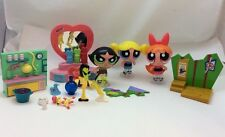 Lot 2000 Cartoon Network PowerPuff Girls Set Bubbles Blossom Buttercup Vanity