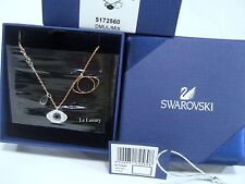 Swarovski Duo Evil Eye Pendant, Blue/Black/Clear Crystal Authentic MIB 5172560