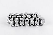 "20 - 7/16"" CHROME ACORN LUG NUTS LUGS TORQ THRUST II MAG WHEEL S 14"" 15"" 16"" 17"""