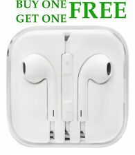 Genuine Apple iPhone Headphone Earphone Handsfree With Mic 6S 6+ 6 5S 5C EarPods