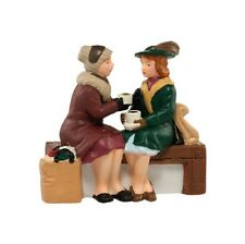 "Dept. 56 Christmas In The City ~ ""HOLIDAY COFFEE BREAK"" ~ MIB ~ Cute Accessory!"