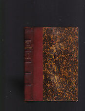 Jean-Christophe: Le Matin (this volume only), 1/2 leather, Romain Rolland, 1900?