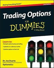 Trading Options for Dummies by Consumer Dummies Staff and Joe Duarte (2015,...