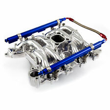 Ford 4.6L EFI 1999-04 Mustang Qualifier Intake Manifold Polished w/Fuel Rails