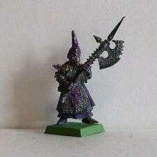 Citadel/Marauder Metal slotta Dark Elf Black Guard 1995 fuera de imprenta (45)