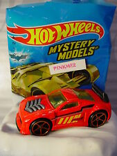 2017 Mystery Models #02 FURIOSITY∞red/yellow;Orange oh5∞Sticker∞Hot Wheels∞