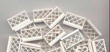 LEGO x 20 White Fence 1 x 4 x 2 NEW 3185 Basic Town
