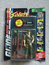 GI Joe SGT Savage Hasbro 1995 Carded Unopened with VHS