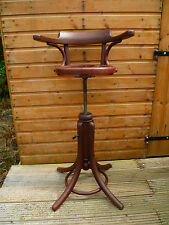 LOVELY ANTIQUE FRENCH, BENTWOOD STYLE, CHILDREN'S, BARBER SHOP CHAIR, TO RESTORE