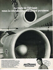 PUBLICITE ADVERTISING 045  1979  AIR AFRIQUE  en DC 10