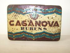 old Cigarette case Cigarette box Travel companion Casanova Rubens