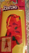 Barbie Best Buy fashions Red print sundress #1468   1978   NEW