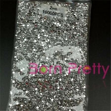 10000 2mm Silver Resin rhinestone Acrylic UV Gel Nail art Decoration