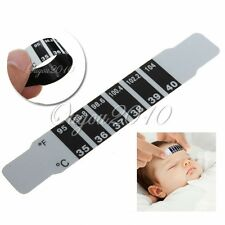 Baby Kinder Stirn Thermometer Fieberthermometer Temperature Tester Strip Band