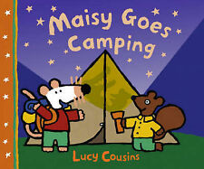 Lucy Cousins Maisy Goes Camping Very Good Book