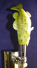 Custom Made Sea BASS BAR BEER TAP HANDLE Kegerator Unique! Figural! Collectible!