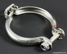 44mm V Band Wastegate Stainless Steel Outlet CLAMP Dump Pipe Discharge