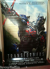 Cinema Banner: TRANSFORMERS AGE OF EXTINCTION 2014 (Optimus Prime) Mark Wahlberg