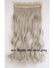 Real Thick 1pcs Clip In 3/4 Full Head Hair Extensions As Human Ombre Hair LK