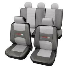 Stylish Grey Seat Covers set - For BMW 5-Series E34 1988-1997
