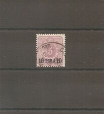 TIMBRE ALLEMAGNE DEUTSCHE KOLONIE GERMAN LEVANT N°1 OBLITERE USED