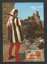 San MARINO MK 1965 Mauro Crossbow maximum carta carte MAXIMUM CARD MC cm 60732